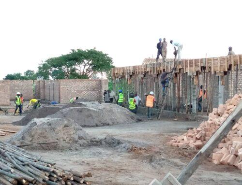 Baufortschritt November 2020